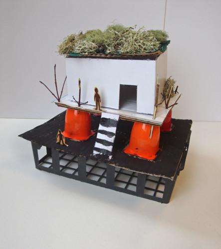 Atelier art plastique maisons paysages mondes maria jalibert - D une maison a l autre ...