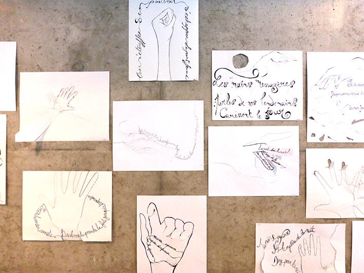 maria jalibert criture illustration ateliers d 39 arts plastiques. Black Bedroom Furniture Sets. Home Design Ideas